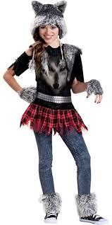 Halloween Costumes Girls Kids Girls Werewolf Costume Party Halloween Costumes