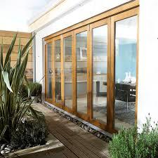 Oak Patio Doors Jeld Wen 4 2m Oak Hardwood Folding Patio Doors Doorsdirect2u