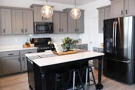 gray kitchen cabinets with black stainless steel appliances black stainless steel appliances what you need to