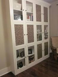Display Cabinet Doors Fabric Covering Glass Doors In Cabinet I Am Doing This With My