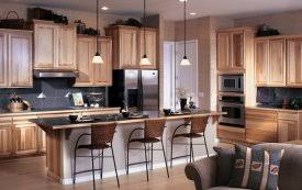 Stained Hickory Cabinets Hickory Rustic Hickory Canyon Creek Cabinet Company