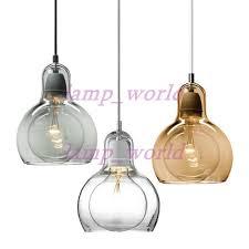 small glass pendant lights new tradition mega bulb sr1 sr2 pendant l single head small glass