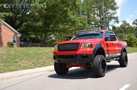 ford f150 truck 2005 2005 ford f 150 fuel nutz country suspension lift 6in