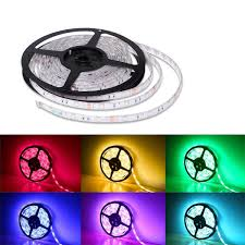 Ribbon Lights Outdoor rgb led strip light dimmable ribbon light multi color