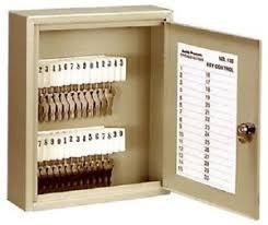 Key Storage Cabinet Buddy 130 1 30 Key Gray Key Storage Cabinet W Tags 25719013011 Ebay