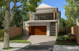 narrow homes dazzling 2 storey house plans for narrow blocks 9 general