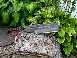 digs fossils n knives custom knives swords dfnk hell s kitchen cleaver sold cpm 3v rc 60 0 3