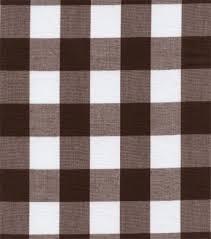 Brown Gingham Curtains Ginghambrown1 M Jpg