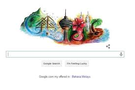 design a google logo online google malaysia features prize winning doodle on malaysia day