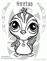 creative cuties free penguin coloring page fun time with lil