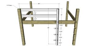 Free Diy Loft Bed Plans by How To Make A Bunk Bed Ladder The Best Bedroom Inspiration