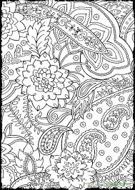 advanced coloring pages adults mosaic flower coloring pages