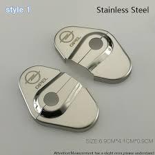 porta per auto auto styling in acciaio inox auto copre coperchio serratura della