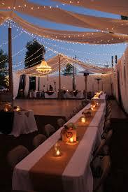 Wedding Backyard Reception Ideas by A Beautiful Night To Celebrate Diy Backyard Wedding Reception