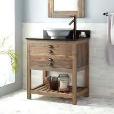 Bathroom Vanity With Farmhouse Sink by Vanities Farmhouse Sink Vanity Barnwood Vanity Rustic Bathroom