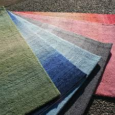 Outdoor Blue Rug by Tufted Ombre Outdoor Rug In Charcoal Thos Baker