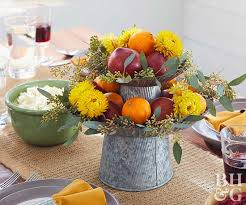 thanksgiving fruit centerpieces