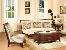 sofa decorative modern wooden sofa sets for living room