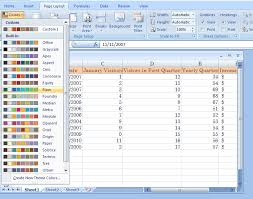colour themes for excel delete a custom color theme theme color format style microsoft