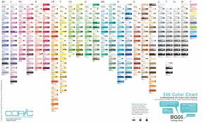 list of colours web experiments with the copic color system extremraym