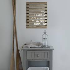 home decor wall signs stratton home decor you are my sunshine plank wood art wall decor
