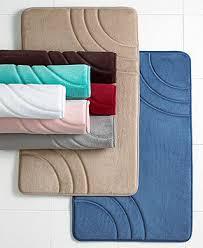 Macys Bath Rugs Sunham Inspire Memory Foam Bath Rug Collection Bath Rugs U0026 Bath