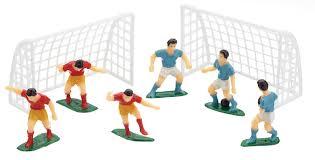 football decorations kitchencraft football cake decorations 1 set piccantino online