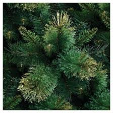 6 5 pre lit artificial tree gold tipped pine