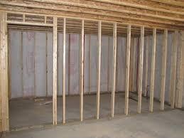 finished basement and plus vapor barrier concrete basement walls