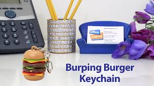 ketchup keychain burping burger keychain youtube