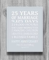 25th anniversary gift ideas anniversary gifts for 20th anniversary 20 year anniversary gift