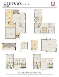 Veterinary Floor Plans Siena 1 New Homes In Orlando Fl Century Homes