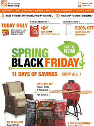 home depot spring black friday tide home depot s p r i n g black friday starts today milled