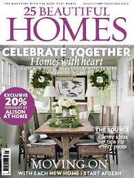 Beautiful Homes Uk 25 Beautiful Homes January 2015 Issue On Sale Today Room Envy