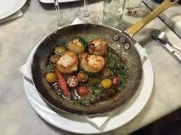 cuisine coquille jacques noix de st jacques picture of restaurant de l ogenblik brussels
