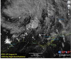 Entergy Outage Map New Orleans by New Orleans Power Outages Seen By The Viirs Day Night Band U2013 The
