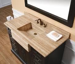 58 Double Sink Vanity Integrated Stone Sinks Bathroom Vanities With A Stylish Twist