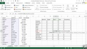 Countif Sumif Minif Excel 2013 Advanced Criteria Within Sumif Countif And
