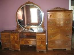 Antique Bedroom Furniture Value 1930 Waterfall Bedroom Furniture Tarowing Club