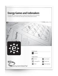 energy games and icebreakers free pdf download u2013 the need project