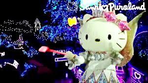 Hello Kitty Christmas Lights by 2017 Summer Illuminations