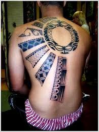 sun tattoo design full back tattoo blue tattoomagz