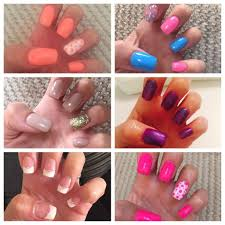 10 for a full set of nsi acrylic or gel nail extensions 12 for a
