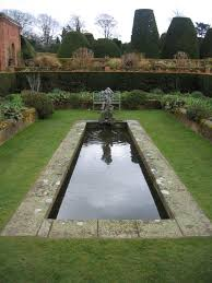ornamental pond at packwood house david stowell cc by sa 2 0