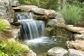 backyard waterfalls lowes building waterfalls and ponds backyard