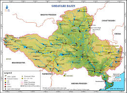 Highly Detailed River Map Of by Godavari