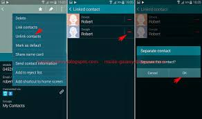 kitkat contacts apk samsung galaxy s5 how to unlink contacts in android 4 4 2 kitkat