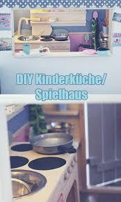 diy kinderküche spielhaus aus holz selber bauen kaufladen und kinderküche