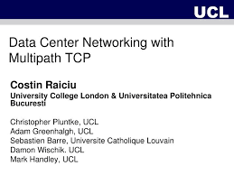 ppt data center networking with multipath tcp powerpoint