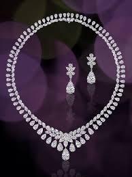 diamond set best 25 diamond necklace set ideas on diamond
